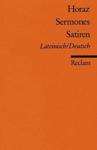 Abbildung von Horaz / Büchner | Sermones /Satiren | 1972