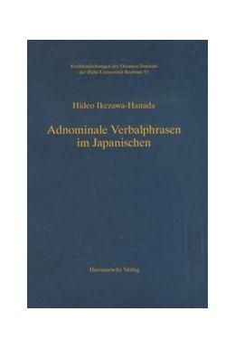 Abbildung von Ikezawa-Hanada | Adnominale Verbalphrasen im Japanischen | 1. Auflage | 2008 | 53 | beck-shop.de