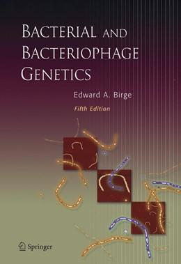 Abbildung von Birge | Bacterial and Bacteriophage Genetics | 5th ed. | 2005