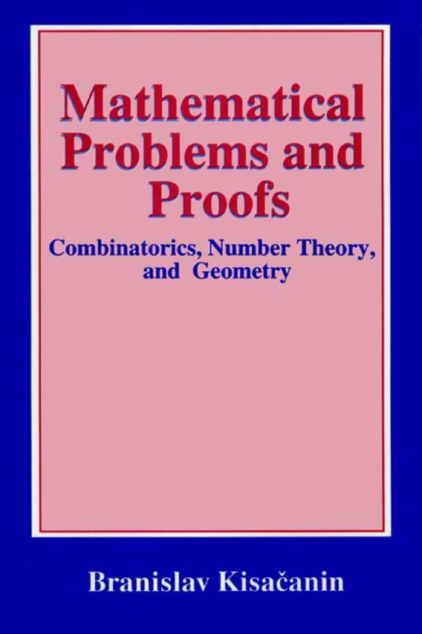 Abbildung von Kisacanin | Mathematical Problems and Proofs | 1998 | 1998
