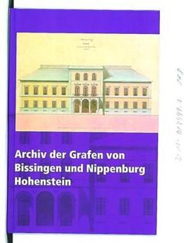 Abbildung von Archiv der Grafen von Bissingen und Nippenburg Hohenstein   2005   32