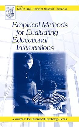 Abbildung von Phye / Robinson / Levin | Empirical Methods for Evaluating Educational Interventions | 2005
