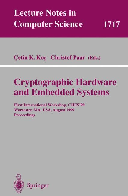 Abbildung von Koc / Paar | Cryptographic Hardware and Embedded Systems | 1999