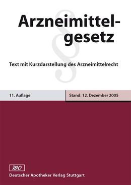 Abbildung von Pabel | Arzneimittelgesetz | 2007 | Text mit Kurzdarstellung des A...
