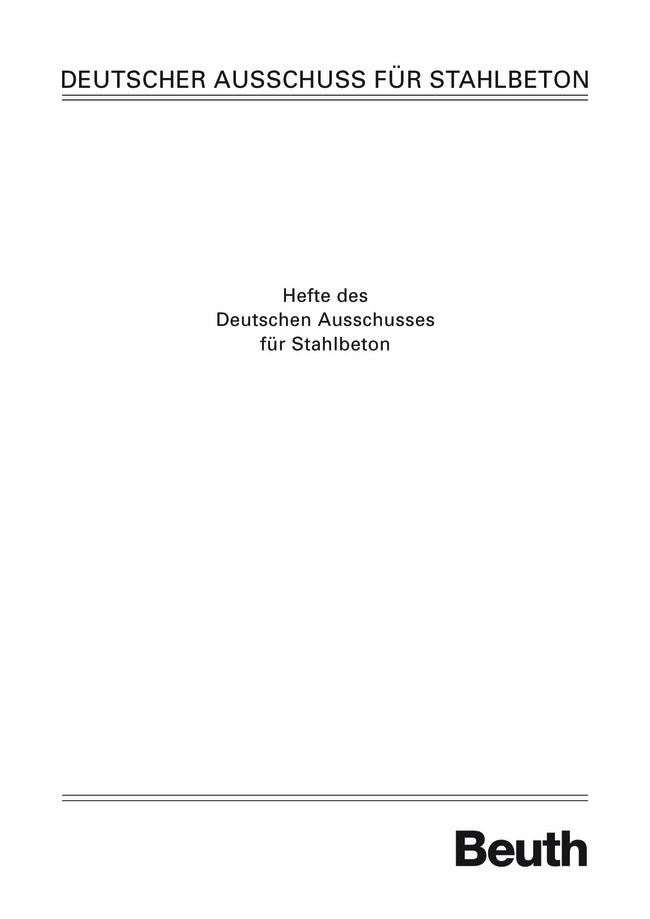 Abbildung von Graubner /  | Sachstandsbericht - Frischbetondruck fließfähiger Betone | 2006