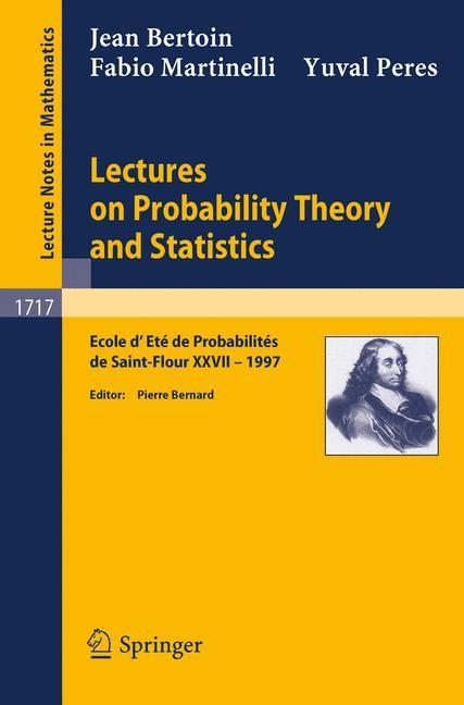 Abbildung von Bertoin / Bernard / Martinelli   Lectures on Probability Theory and Statistics   1999