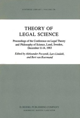 Abbildung von Peczenik / Lindahl / van Roermund | Theory of Legal Science | 1984 | Proceedings of the Conference ... | 176
