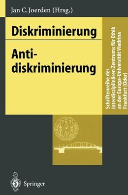 Abbildung von Joerden   Diskriminierung - Antidiskriminierung   1996