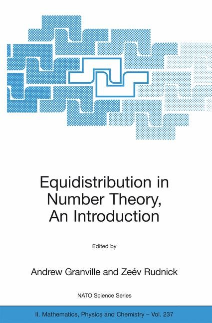 Abbildung von Granville / Rudnick | Equidistribution in Number Theory, An Introduction | 2006