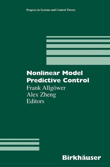 Abbildung von Allgöwer / Zheng | Nonlinear Model Predictive Control | 2000