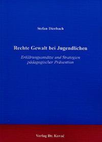 Abbildung von Dierbach | Rechte Gewalt bei Jugendlichen | 2001
