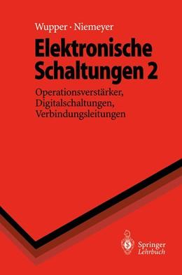 Abbildung von Wupper / Niemeyer | Elektronische Schaltungen 2 | 1996