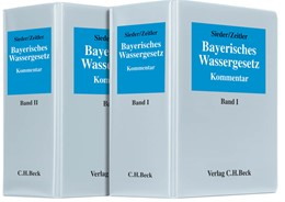 Abbildung von Sieder / Zeitler   Bayerisches Wassergesetz   36. Auflage   2017