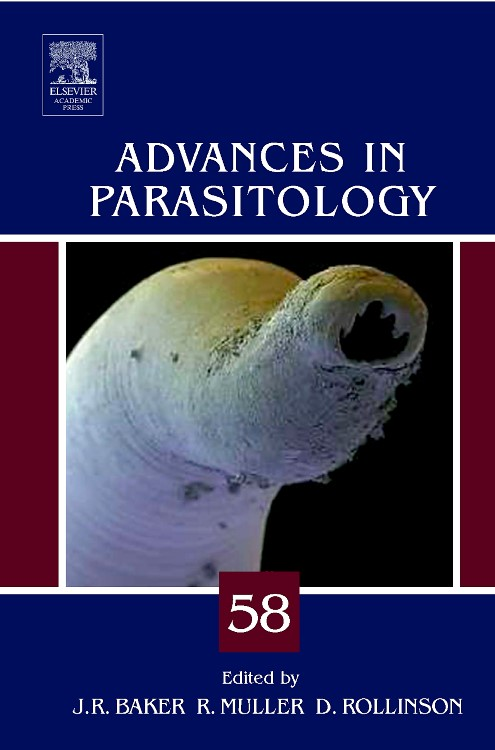 Abbildung von Advances in Parasitology | 2004