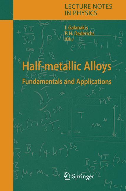 Abbildung von Galanakis / Dederichs   Half-metallic Alloys   2005