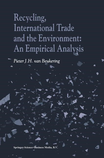 Abbildung von van Beukering | Recycling, International Trade and the Environment | 2001