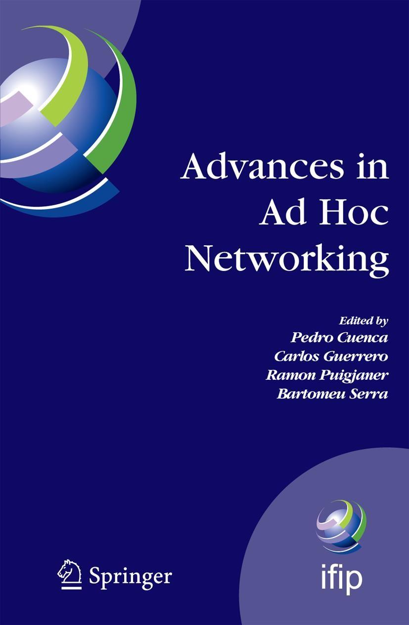 Abbildung von Cuenca / Guerrero / Puigjaner / Serra   Advances in Ad Hoc Networking   2008
