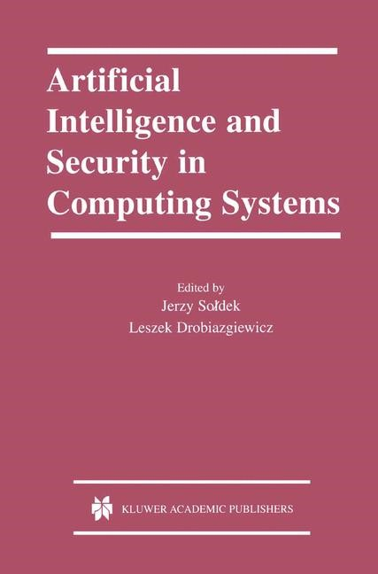 Abbildung von Soldek / Drobiazgiewicz | Artificial Intelligence and Security in Computing Systems | 2003