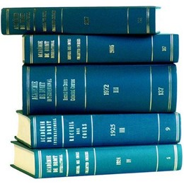 Abbildung von Recueil des cours, Collected Courses, Tome/Volume 324 (2006) | 2008 | 324