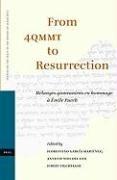 Abbildung von García Martínez / Steudel | From 4QMMT to Resurrection | 2006