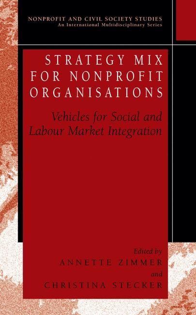 Abbildung von Zimmer / Stecker | Strategy Mix for Nonprofit Organisations | 2004