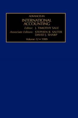 Abbildung von Sale | Advances in International Accounting | 1999 | 12