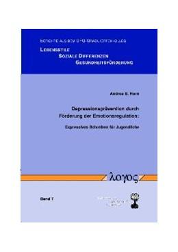 Abbildung von Depressionsprävention durch Förderung der Emotionsregulation: Expressives Schreiben für Jugendliche | 2004