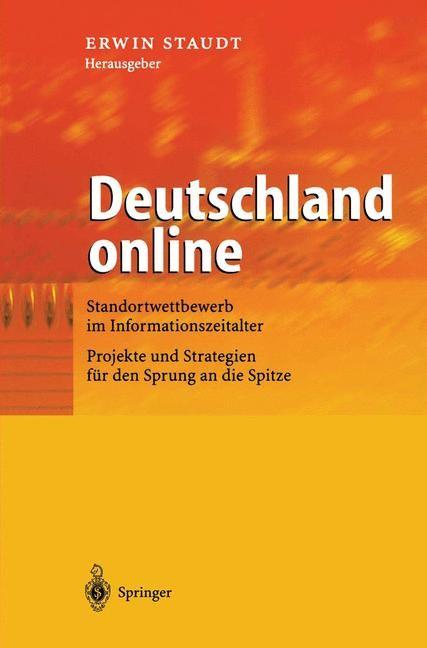 Abbildung von Staudt | Deutschland online | 2002