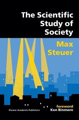 Abbildung von Steuer | The Scientific Study of Society | 2002