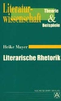 Abbildung von Mayer | Literarische Rhetorik | 2002