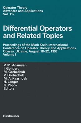 Abbildung von Adamyan / Gohberg / Gorbachuk / Gorbachuka / Kaashoek / Popov / Langer | Differential Operators and Related Topics | 2000 | Proceedings of the Mark Krein ... | 117