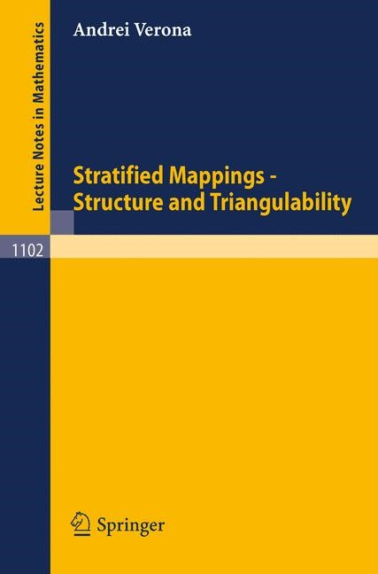Abbildung von Verona | Stratified Mappings - Structure and Triangulability | 1984