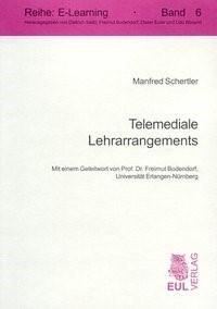 Abbildung von Schertler | Telemediale Lehrarrangements | 2004