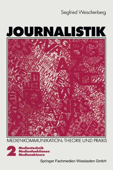 Abbildung von Weischenberg   Journalistik   1995