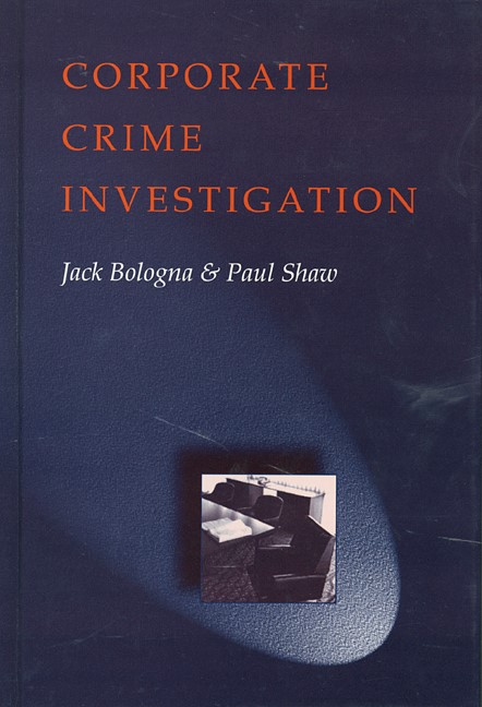 Abbildung von Bologna / Shaw | Corporate Crime Investigations | 1996