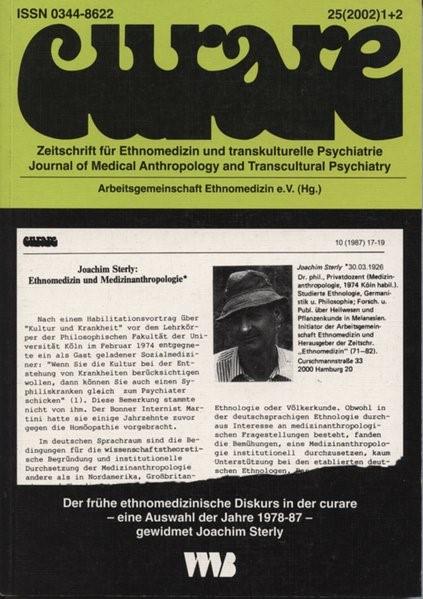 Abbildung von Curare. Zeitschrift für Ethnomedizin und transkulturelle Psychiatrie / Der frühe ethnomedizinische Diskurs in der curare | 2004