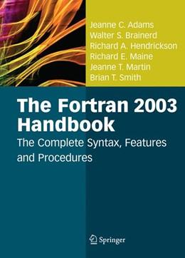 Abbildung von Adams / Brainerd / Hendrickson | The Fortran 2003 Handbook | 2008 | The Complete Syntax, Features ...