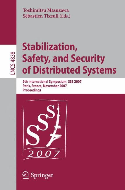 Abbildung von Masuzawa / Tixeuil | Stabilization, Safety, and Security of Distributed Systems | 2007