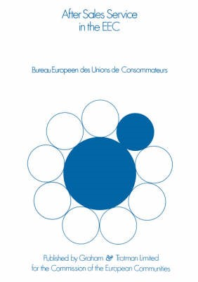 Abbildung von Bureau Européen des Unions de Consommateurs | After Sales Service in the European Community | 1977