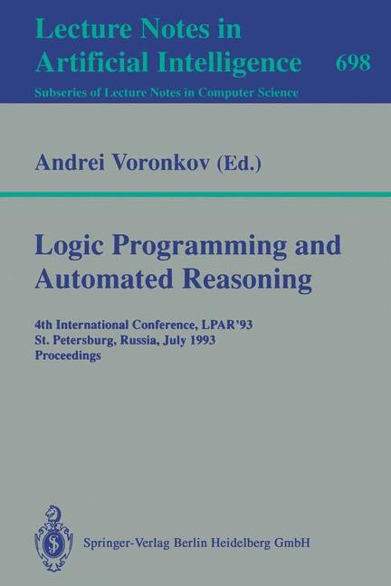 Abbildung von Voronkov | Logic Programming and Automated Reasoning | 1993