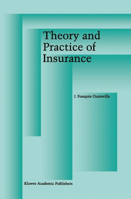 Abbildung von Outreville   Theory and Practice of Insurance   1998   1997