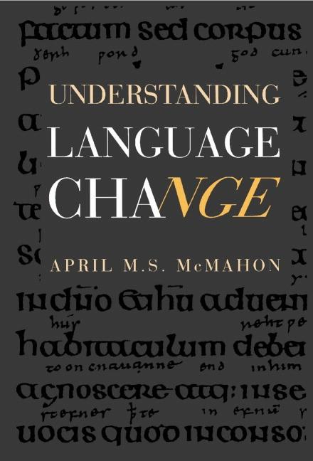 Abbildung von McMahon | Understanding Language Change | 1994