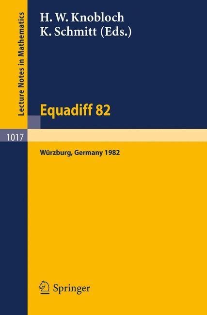 Abbildung von Knobloch / Schmitt   Equadiff 82   1983