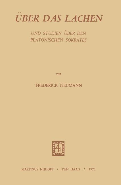 Abbildung von Neumann | Über Das Lachen | 1971