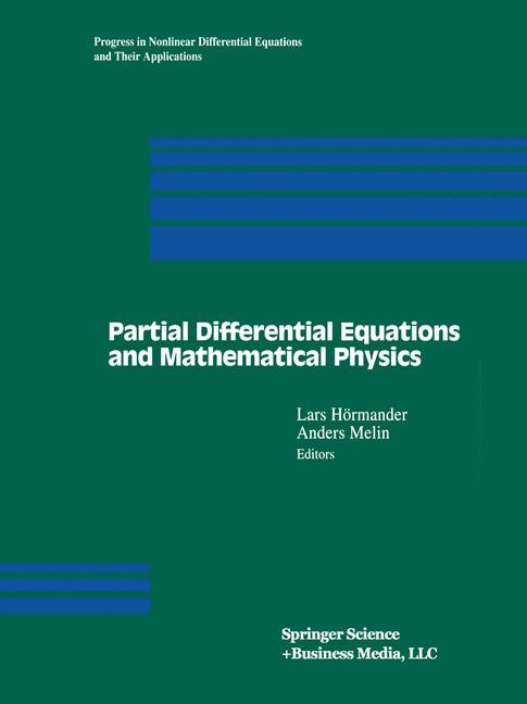 Abbildung von Hörmander / Melin | Partial Differential Equations and Mathematical Physics | 1996