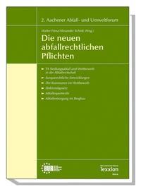 Abbildung von Frenz / Schink | Die neuen abfallrechtlichen Pflichten | 2006