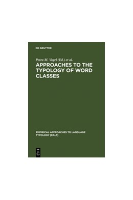 Abbildung von Vogel / Comrie | Approaches to the Typology of Word Classes | Reprint 2012 | 1999 | 23