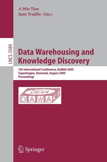 Abbildung von Tjoa | Data Warehousing and Knowledge Discovery | 2005