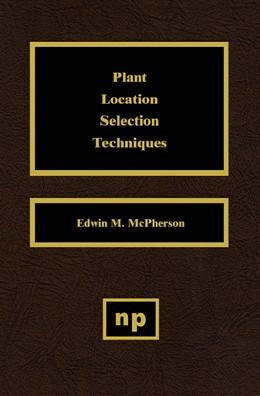 Abbildung von McPherson | Plant Location Selection Techniques | 1995