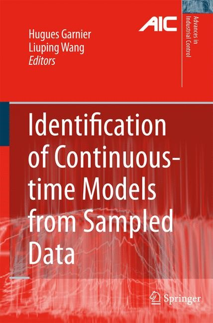 Abbildung von Garnier / Wang | Identification of Continuous-time Models from Sampled Data | 2008